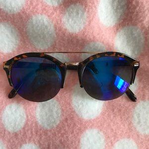 Madden blue tinted sunglasses